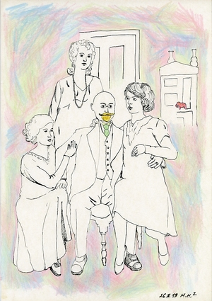 Yellow Beard of the Professor from the series Family Archive